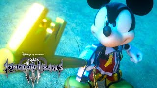 Kingdom Hearts Iii Official Opening Movie Hikaru Utada Skrillex