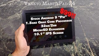 MatirxPad Z4 Android 9 Tablet Review : Budget Tablet for under $100