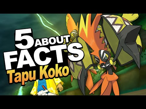"5 Facts About Tapu Koko You Should Know!!! w/ ShinoBeenTrill ""Pokemon Sun and Moon"" thumbnail"