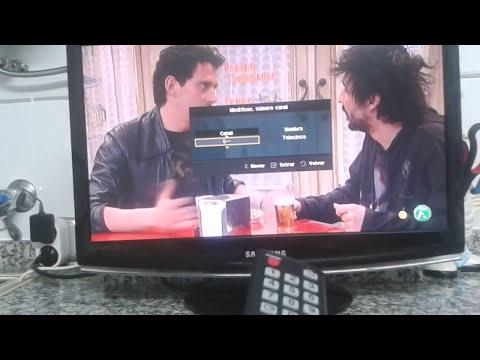 Como ordenar los canales en la tele Samsung