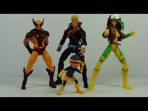 Marvel Universe Uncanny X Men Box Set Figure Review