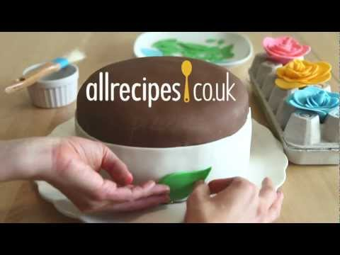 How to make fondant icing video – Allrecipes.co.uk