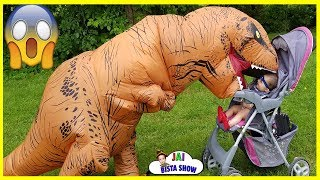 SCARY DINOSAUR STOLE OUR SISTER