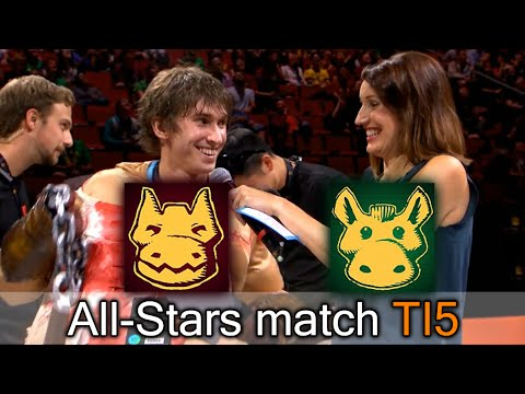 All-Stars match — closest comeback on The International 2015