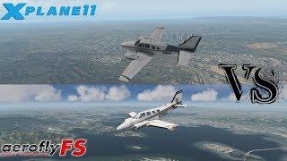 Comparison AeroFly FS2 VS X-Plane 11 (Ultra graphic)