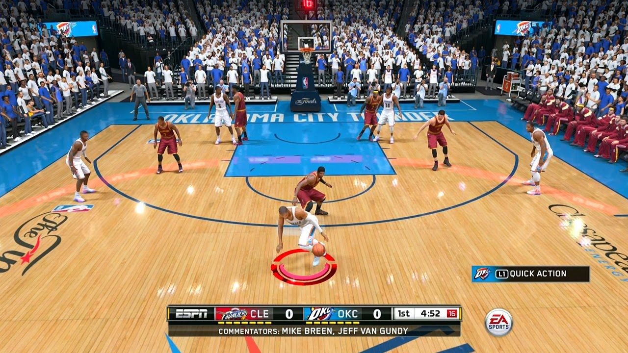 nba live 15 part 1 welcome playstation 4 gameplay youtube. Black Bedroom Furniture Sets. Home Design Ideas