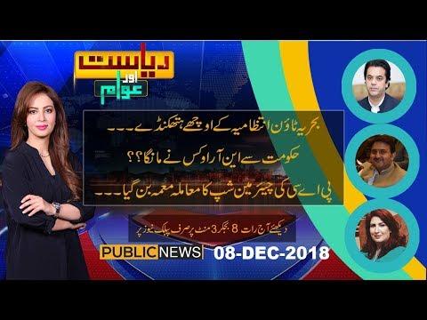 Riyasat Aur Awam with Farah Sadia | 8 December 2018 | Public News thumbnail