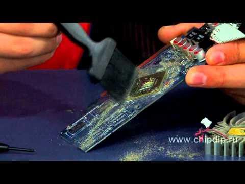Продление жизни кулеру на видеокарте - Видео