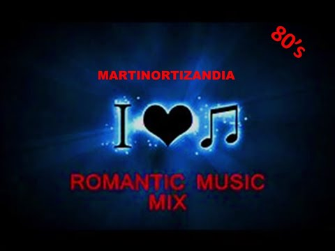ROMANTICAS DE LOS 80's, MIX