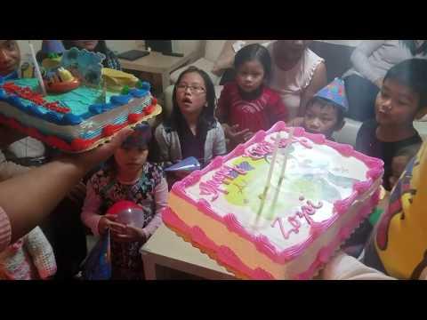 Happy Birthday to You Cha Cha Cha - Aarona, Zozovi, & Sangtea