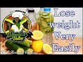 How to lose weight very easily at home Lemon apple cider vinegar cucumber celery