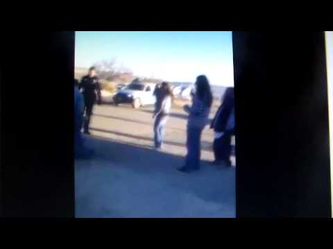 Tribal officer trying to break up a fight with 2 Tribal members on Ute Mountain Rez