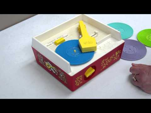 Fisher Price Music Box Record Player #995 Vintage Complete Set