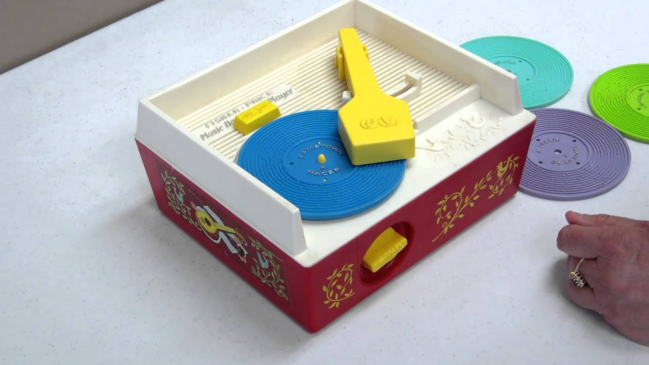 Fisher Price Music Box Record Player #995 Vintage Complete Set - YouTube