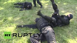 Russia: See Special Forces in action conducting hostage drills