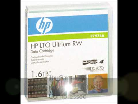 HP C7974A LTO-4 Backup Tape With Massive Capacity Of 800GB/1600GB And Superior Quality