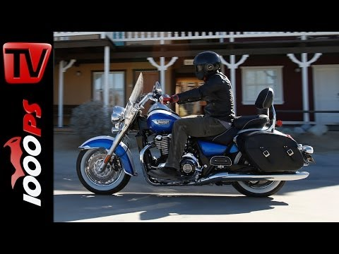 Test-Video | Triumph Thunderbird LT 2014-Action, Details, Fazit