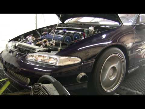 Jeff's ER Built 42R 1G 900+hp AWD 1g DSM Talon  Dyno pulls on 2 different DynoJets