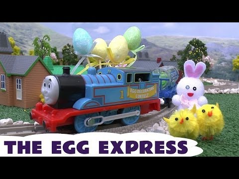 Express Egg Thomas & Friends Easter Surprise Egg Kids Toy Train Trackmaster Thomas The Tank Engine