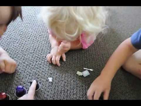 Игра на развитие памяти (домашний детский сад, Окленд, Новая Зеландия)