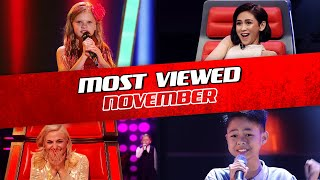 TOP 10 | The Voice Kids: TRENDING IN NOVEMBER 2019