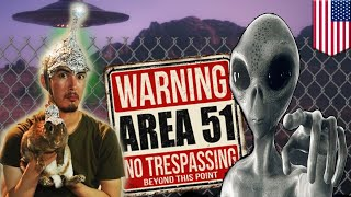 Storm Area 51: US Air Force warns alien hunters - TomoNews
