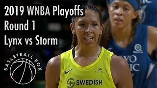 [WNBA Playoffs Round1] Minnesota Lynx vs Seattle Storm, Full Game Highlights, September 11, 2019