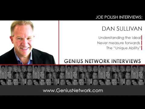 Dan Sullivan Unique Ability:  Genius Network Interviews
