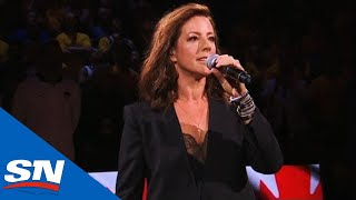 Sarah McLachlan Sings O Canada Ahead Of Game 6 Of The NBA Finals