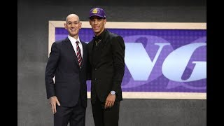 Lonzo Ball Drafted 2nd Overall By Los Angeles Lakers In 2017 NBA Draft by : NBA