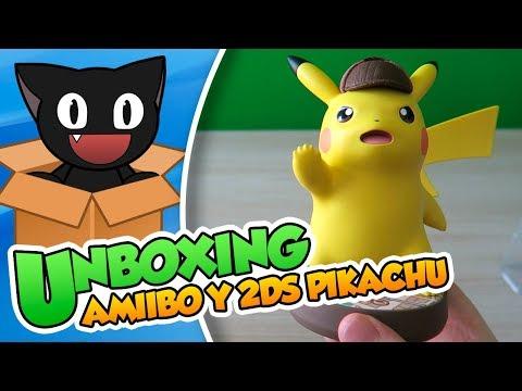 ¡Gran detective y Gran amiibo! Unboxing: Amiibo Detective Pikachu y New 2DS XL Pikachu - DSimphony