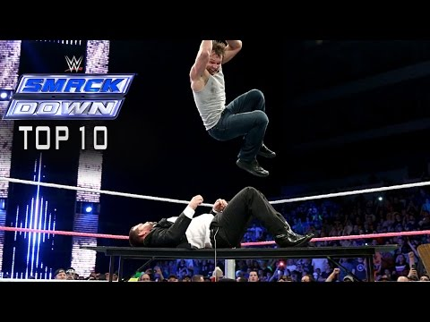 Top 10 WWE SmackDown moments - October 24, 2014