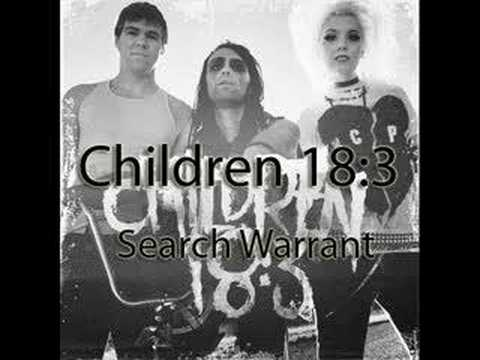 Children 18:3 - Search Warrant