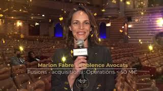 Palmarès du Droit 2021 - Coblence Avocats - Fusions acquisitions : opérations inf. à 50 M€