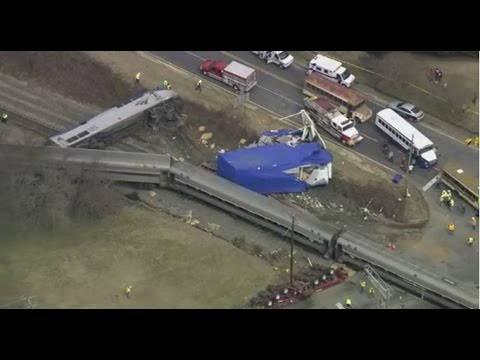 Amtrak train derailment in Halifax, NC