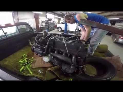 Ford 302 V8 for Vagabond Falcon at Bruce Henn's Garage