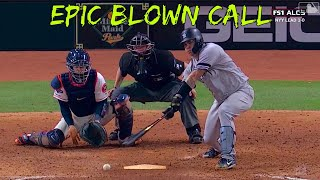 Umpire makes EPIC Blown Calls
