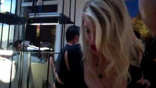 Edward Aydin & Meredith Ostrom 'Hogan Party ' Paris 2011