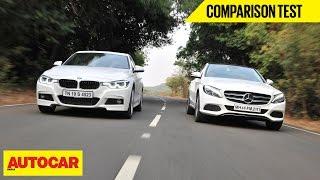 BMW 320d M Sport VS Mercedes-Benz C250 D   Comparison Test   Autocar India
