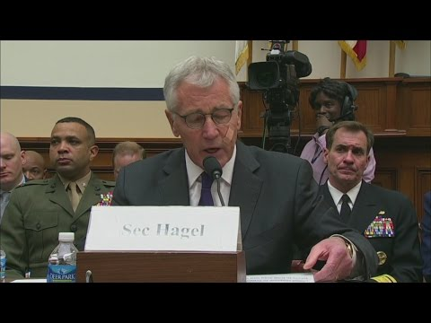 Obama announces Hagel resignation from Pentagon