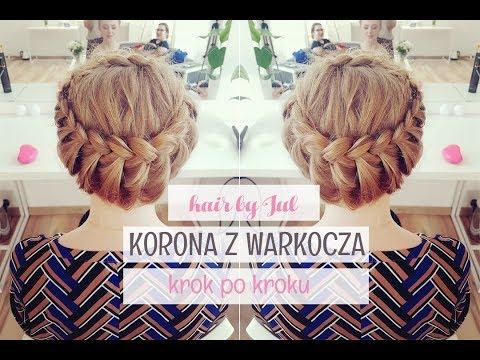 Jak Zrobić Koronę Z Warkocza? - Hair By Jul