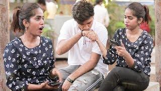 Manish Raj Uncut: Meri GF Banjao Na Prank   Prank On Cute Girls In Mumbai   Prank In India   BRuncut