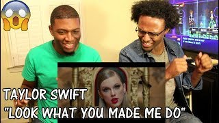 Download Lagu Taylor Swift - Look What You Made Me Do (REACTION) Gratis STAFABAND