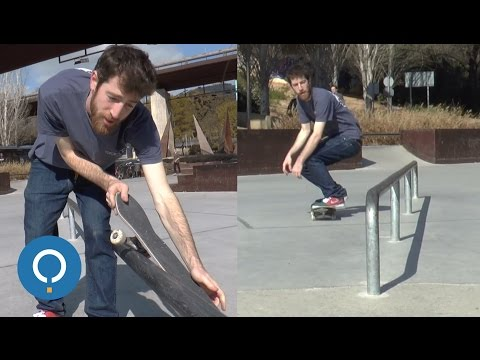How To Feeble Grind - Skateboard Tricks