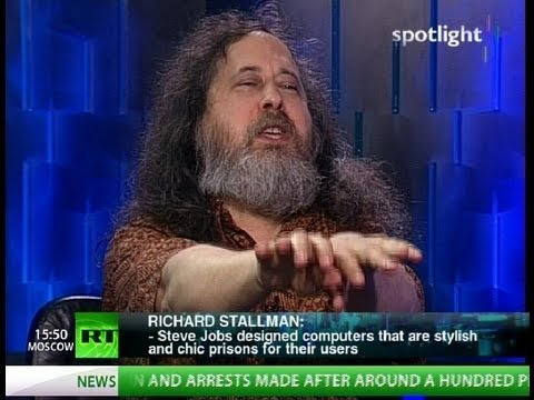 Richard Stallman: We're heading for a total disaster