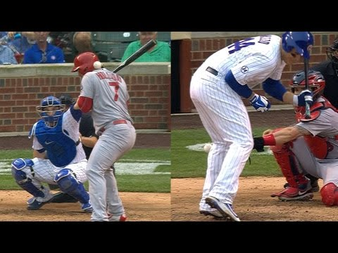 STL@CHC: Cubs, Cardinals trade hit batters