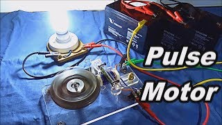 DC Pulse Motor to AC Magnet Generator!
