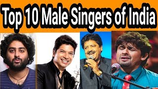 Top 10 Male Singers Of India.