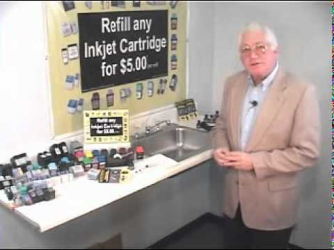 Universal Inkjet Refill Kits - hints and tips on refilling your inkjet cartridges