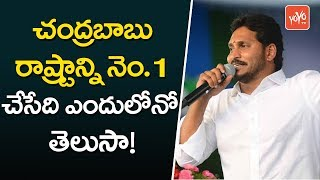Jagan Sensational Comments on Chandrababu 4 Years Governance at Banaganapalli, kurnool